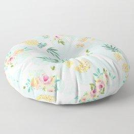 Sweet Pineapples Floor Pillow