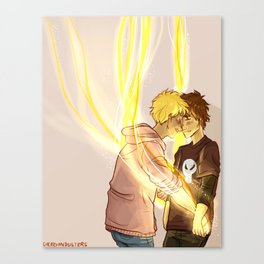 Solangelo - Dance with Light Canvas Print
