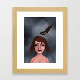 Dejection Framed Art Print