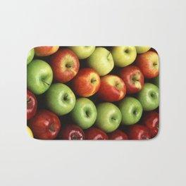 Various Types of Apples Bath Mat