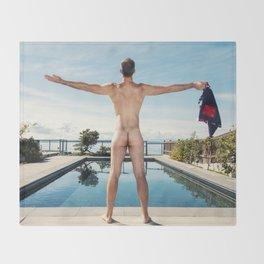 Freedom In Summer Throw Blanket