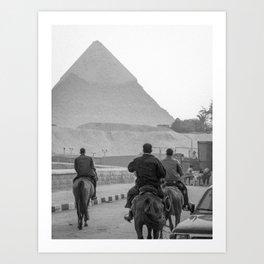 Pyramid of Giza - Egypt Art Print