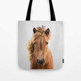 Wild Horse - Colorful Tote Bag