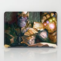 thanos iPad Cases featuring Thanos: Infinity Gauntlet  by MATT DEMINO