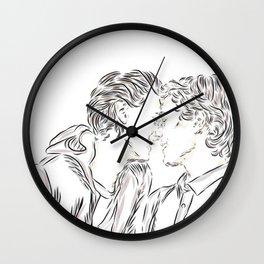 Even + Isak Wall Clock