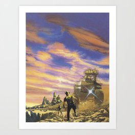 The Wild West Guide To The Galaxy # 113 Art Print