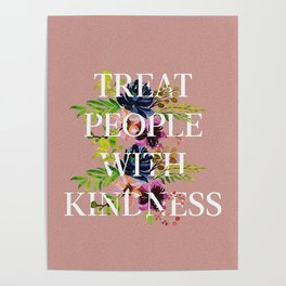 Treat People With Kindness graphic artwork / Harry Styles Poster