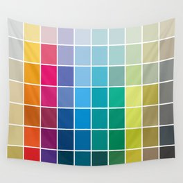 Colorful Soul - All colors together Wall Tapestry