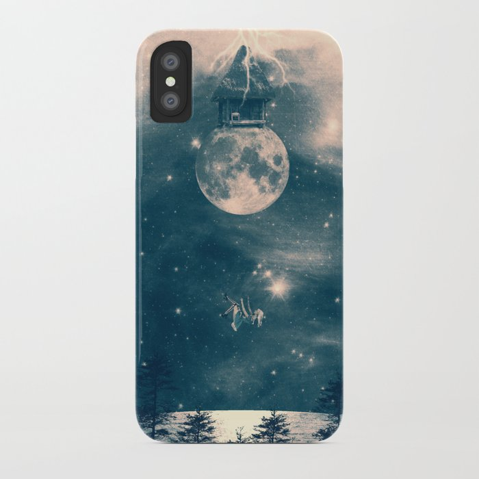 One Day I Fell from My Moon Cottage... iPhone Case