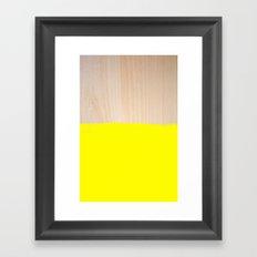 Sorbet V Framed Art Print