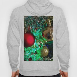 Baubles, Beads and Tinsel Holiday Decor Hoody