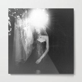 Samantha Ylva Beasley - Holga portrait Metal Print