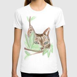 Cat in the Jungle T-shirt