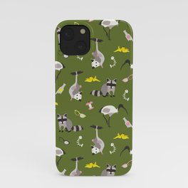 Trash pals from other locales iPhone Case