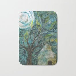 Stormy night Bath Mat