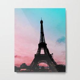 Eiffel Tower I Metal Print
