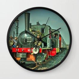 Wognum Double header Wall Clock