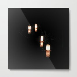 Lanterns of Healing (Japan) Metal Print