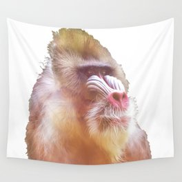 Mandrill Wall Tapestry