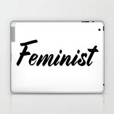 Feminist (on white) Laptop & iPad Skin