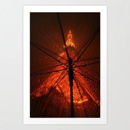 Tokyo Tower Art Print