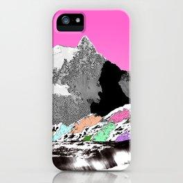 Technicolor landscape iPhone Case