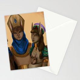 Thycenian Couple Stationery Cards