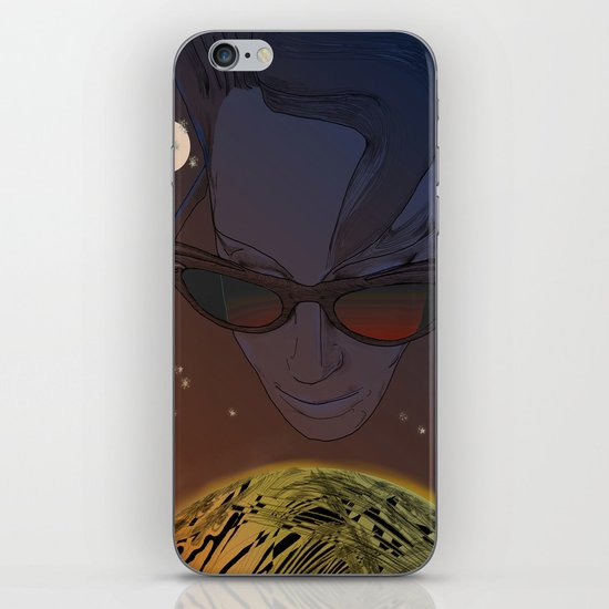 Wanda, Kisses from Planet UZU- Dawn version  iPhone & iPod Skin