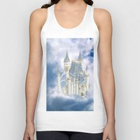 fairytale Tank Tops featuring Fairytale Castle by Simone Gatterwe