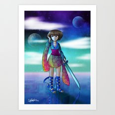 Uranus Princess Art Print