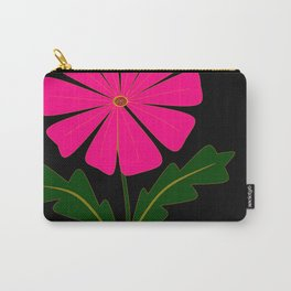 Big Pink Flower Carry-All Pouch