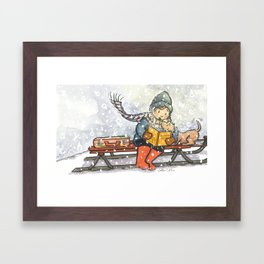 The Reader Framed Art Print