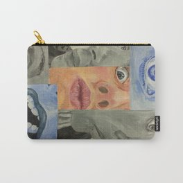 modern cubism Carry-All Pouch