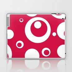 Circles Dots Bubbles :: Geranium Laptop & iPad Skin