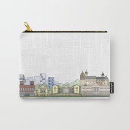 Oslo skyline colored Carry-All Pouch