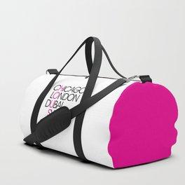 Worldwide House EDM Quote Duffle Bag