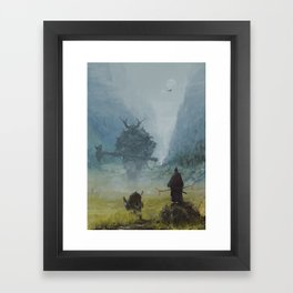 brothers in arms - worlord  Framed Art Print
