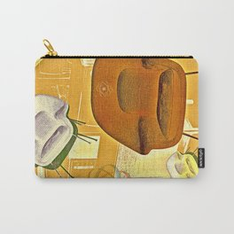 Home maker furniture retro illustration Carry-All Pouch