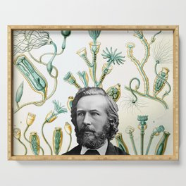 Ode to Haeckel Serving Tray