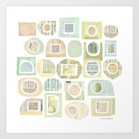 frames Art Prints featuring Frames by maria carluccio