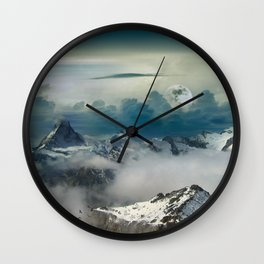 Mountain Sound Wall Clock