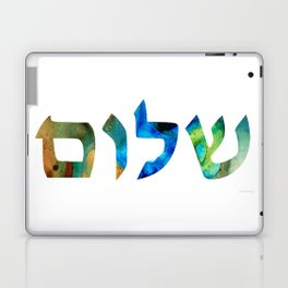 Shalom 15 by Sharon Cummings Laptop & iPad Skin