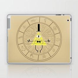 Bill Cipher summoning Laptop & iPad Skin