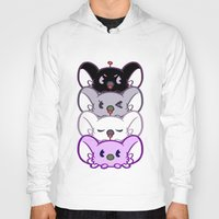 asexual Hoodies featuring Secret Undercover Asexual Koaloids by Arinko
