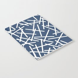 Kerplunk Navy and White Notebook