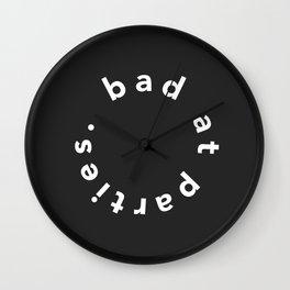 I consider myself a realist Wall Clock