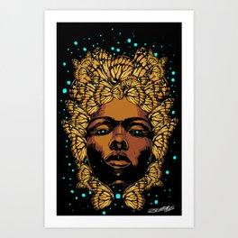 WILD SEED 3 Art Print