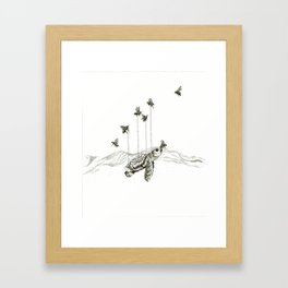 Look Out for Me Framed Art Print