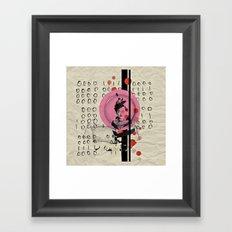 Eye To Eye Framed Art Print