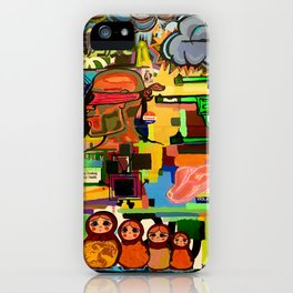 Babushka iPhone Case